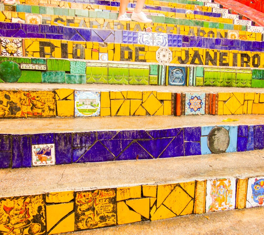 Selaron Stairs in Rio